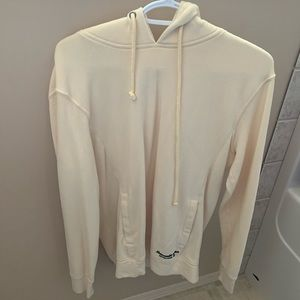 Pale yellow Abercrombie & Fitch hoodie